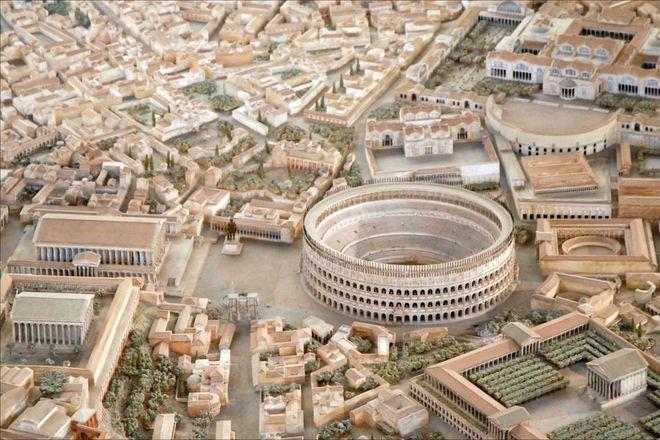 Photo of Модель Стародавнього Риму, на створення якої пішло 38 років
