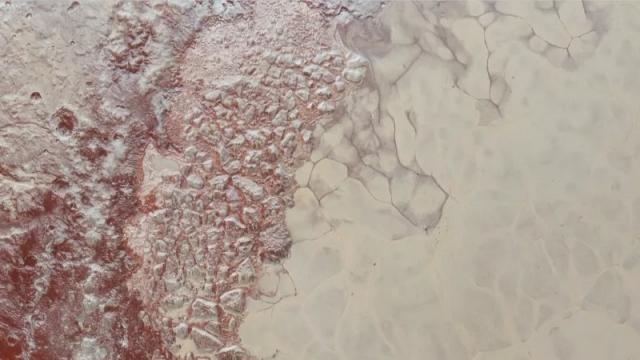 Photo of На Плутоні виявлені метанові дюни