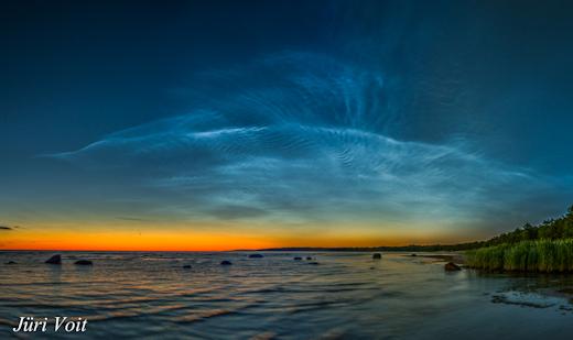 Photo of У небі з'явилися сріблясті хмари