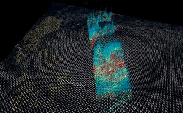 Photo of NASA опублікувало зроблене з космосу фото тайфуну «Мангхут»