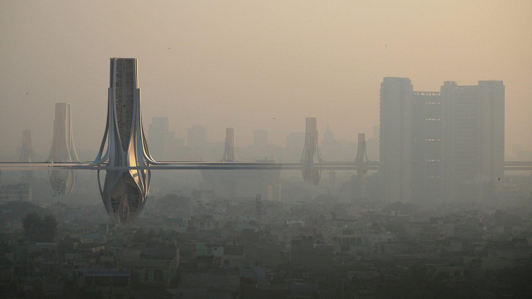 Photo of Вежі, які очищають повітря, врятують Делі від смогу
