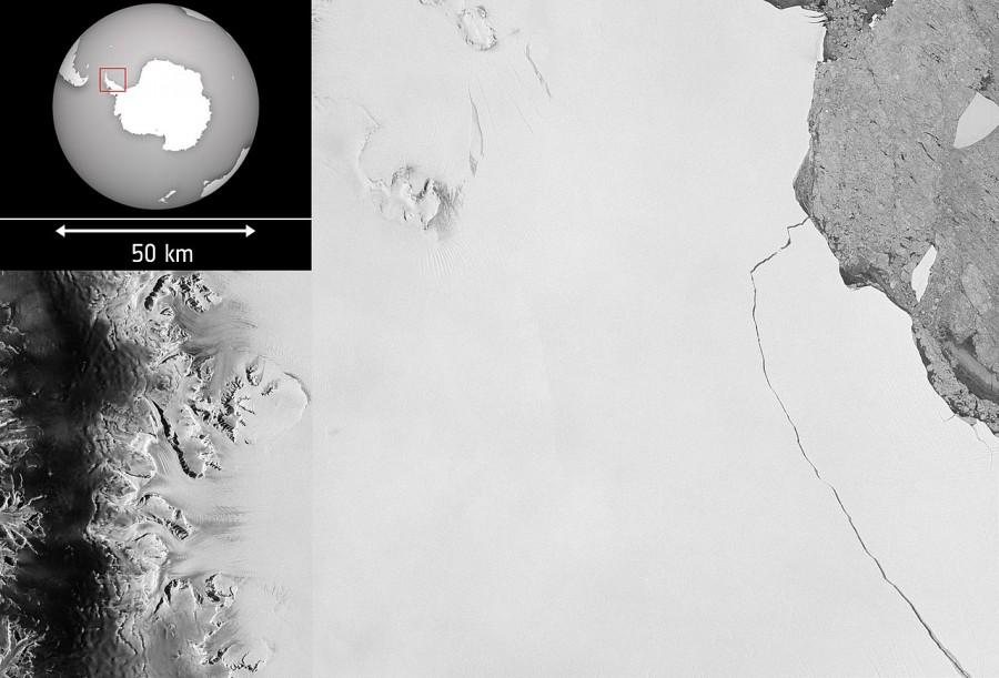 Photo of Втеча величезного айсберга