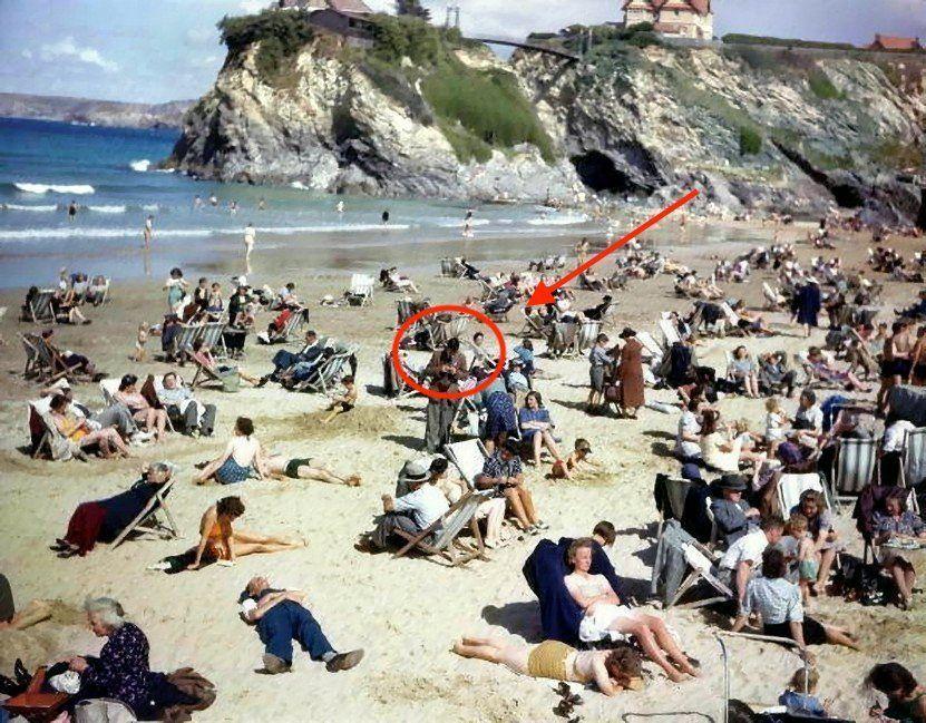 Photo of На знімку 1943 року розгледіли «мандрівника у часі» зі смартфоном