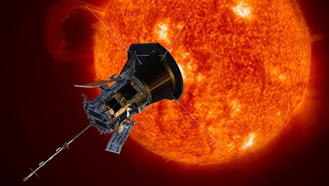 Photo of Зонд Parker передав на Землю перший після зближення з Сонцем сигнал