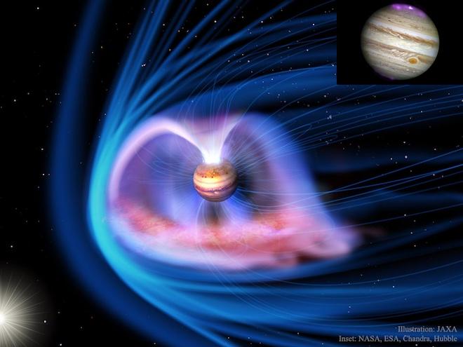 Photo of Велична магнітосфера Юпітера