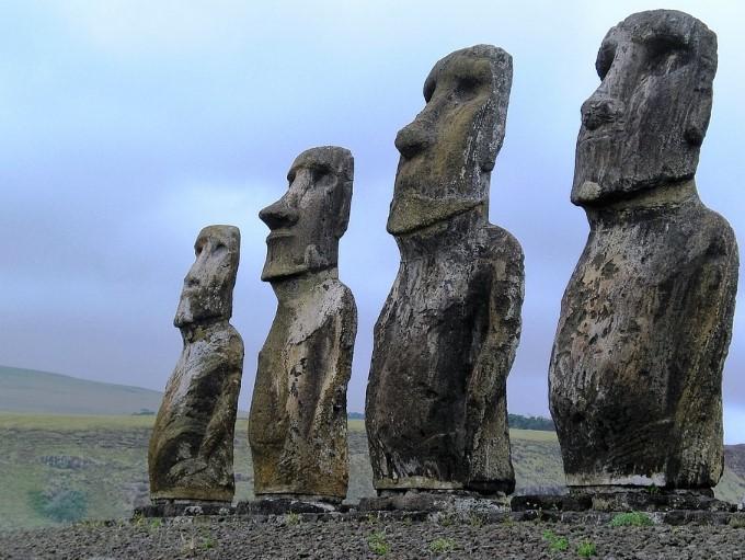 Photo of Вчені: Статуї острова Пасхи служать мітками для джерел прісної води