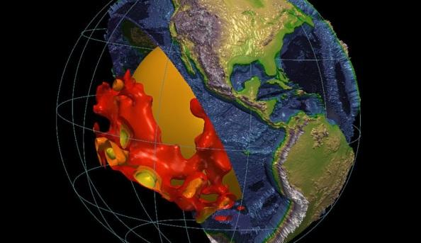 Photo of Земну мантію пронизують таємничі гігантські структури