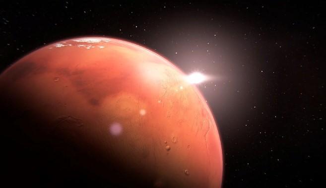 Photo of На Марсі виявили стіну з вирізаним зображенням рептилії