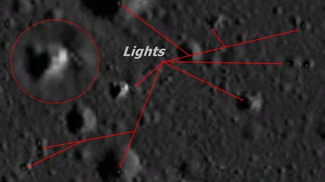 Photo of Таємничі вогні на поверхні Місяця вмикаються і вимикаються