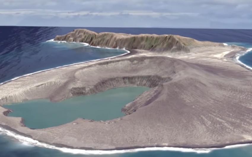 Photo of Вчені зняли на відео «народження» острова в Тихому океані