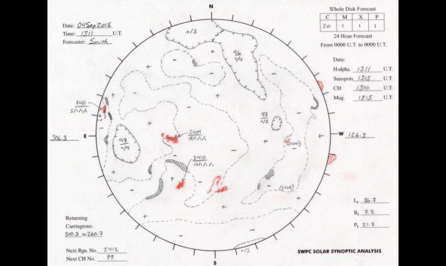 Photo of Сонячна активність c 1972 по 2015 рік