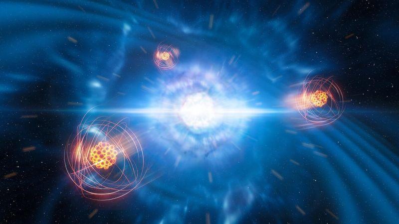 Photo of Астрономи виявили стронцій в місці зіткнення нейтронних зірок