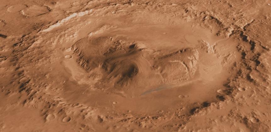 Photo of На Марсі знайшли стародавній водний оазис