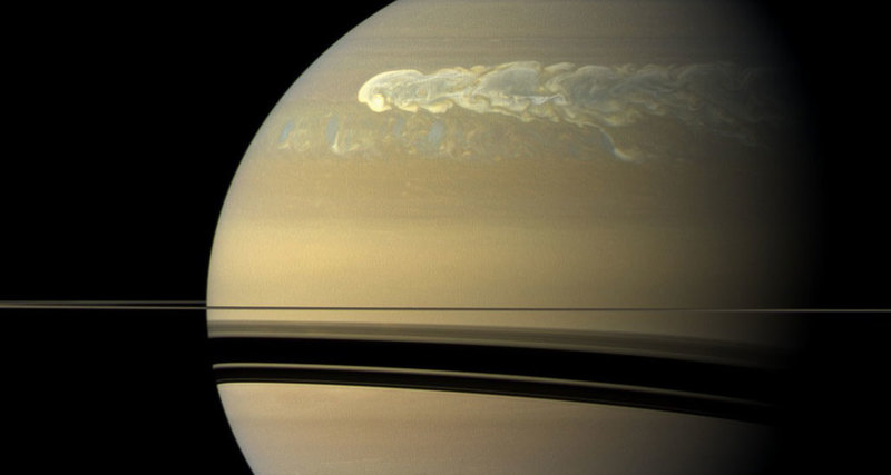 Photo of На Сатурні виявили новий тип штормів
