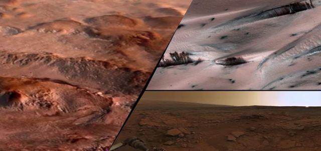 Photo of На Марсі зафіксовані таємничі коливання вмісту кисню