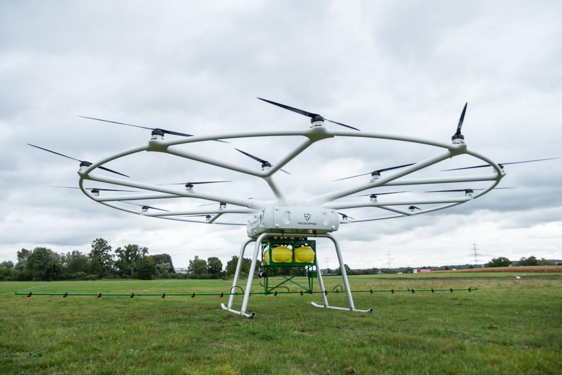 Photo of Volokopter побудує гігантський безпілотник для обробки полів