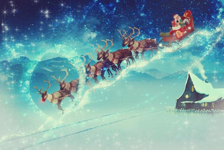 Photo of Вчені обгрунтували червоний колір носа оленя Санта-Клауса, Рудольфа