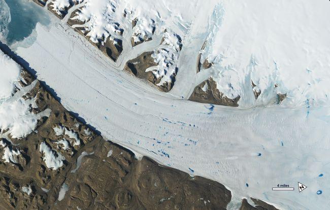 Photo of Знімки з супутників показали, що льодовики за 50 років скоротилися на 5 км