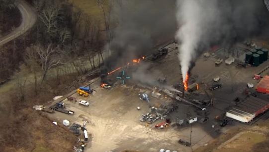 Photo of Європейський супутник виявив катастрофічний витік метану на майданчику Exxon в Огайо