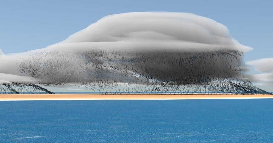 Photo of Вічний шторм Гектор зняли з космосу