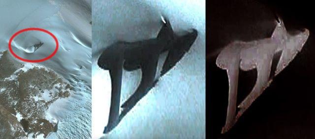 Photo of «Скам'янілого птеродактиля» знайшли на супутникових знімках Антарктиди