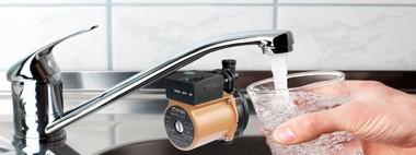 Насос для повышения давления Воды в квартиру оптима