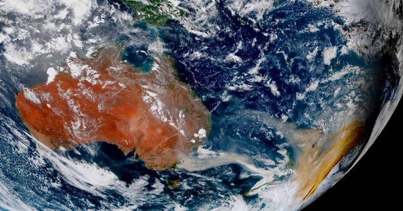 Photo of Фахівці NASA показали, як дим австралійських пожеж вплинув на земну атмосферу