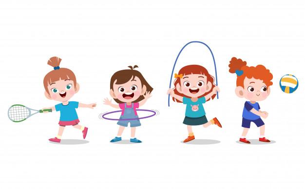 Инвентарь для детей на занятиях спортом
