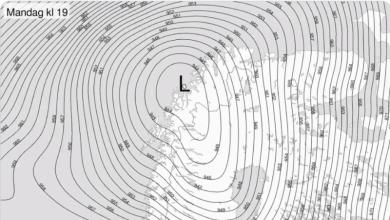 Photo of Тиск повітря над Північною Норвегією був настільки низьким, що літаки перестали літати