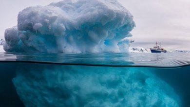 Photo of Як виглядає айсберг під водою?