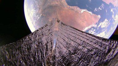 Photo of Космічний вітрильник надіслав дивовижні знімки Землі