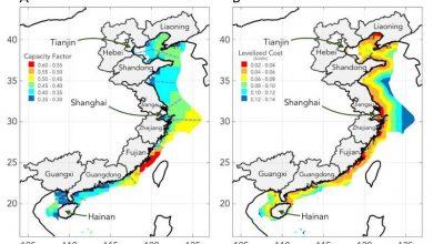 Photo of Прибережні вітряні електростанції можуть живити більшу частину прибережного Китаю