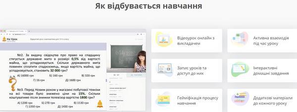 онлайн підготовка до ЗНО