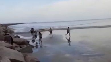 Photo of Несподіване цунамі обрушилося на бразильський пляж