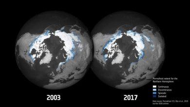 Photo of Докладні нові карти показують танення вічної мерзлоти