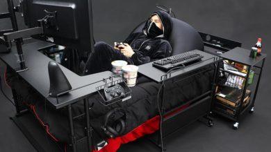 Photo of Розроблено ліжко для любителів комп'ютерних ігор