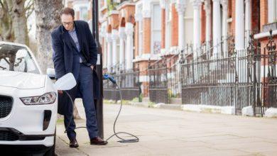 Photo of У Лондоні з'явилася вулиця, де від кожного ліхтаря можна зарядити електрокар