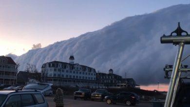 Photo of Моторошну хмару спостерігали в Род-Айленді