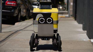 Photo of Робот-кур'єр викрав у людини замовлену нею їжу (відео)