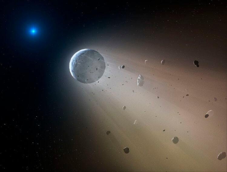 Астрономам удалось увидеть гибель другой звёздной системы