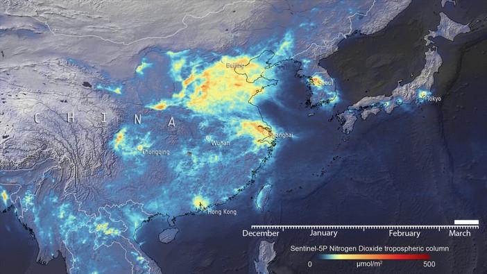 Спутники показали дальнейшее снижение концентрации NO2 в Европе