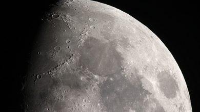 Photo of За два роки на Місяць впало більше 100 невеликих метеоритів