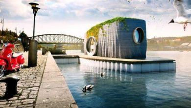 Photo of Стильний, асиметричний плавучий будинок буде надруковано в 3D за 48 годин