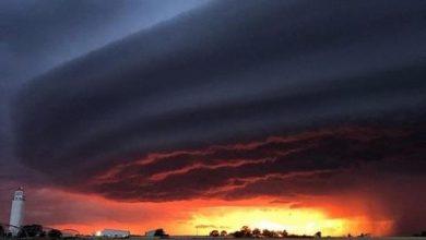 Photo of Апокаліптичний шторм на заході в Кловісе, Нью-Мексико