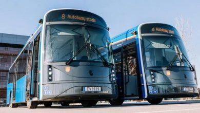 Photo of У Литві створили електробус з екраном зовні кузова