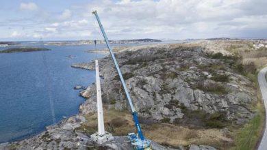 Photo of Шведи побудували першу вітряну вежу з масиву деревини