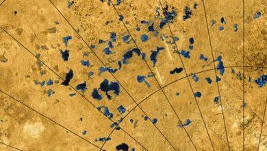 Photo of Яскраві плями Титану могли бути озерами