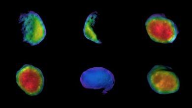 Photo of Орбітальний апарат NASA Odyssey зробив три приголомшливих зображення супутника Марса Фобос (фото)