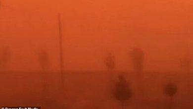 Photo of Жахлива піщана буря поглинула китайське місто за лічені хвилини