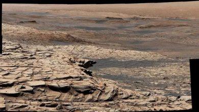 Photo of Curiosity зробив знімок з гори Шарп